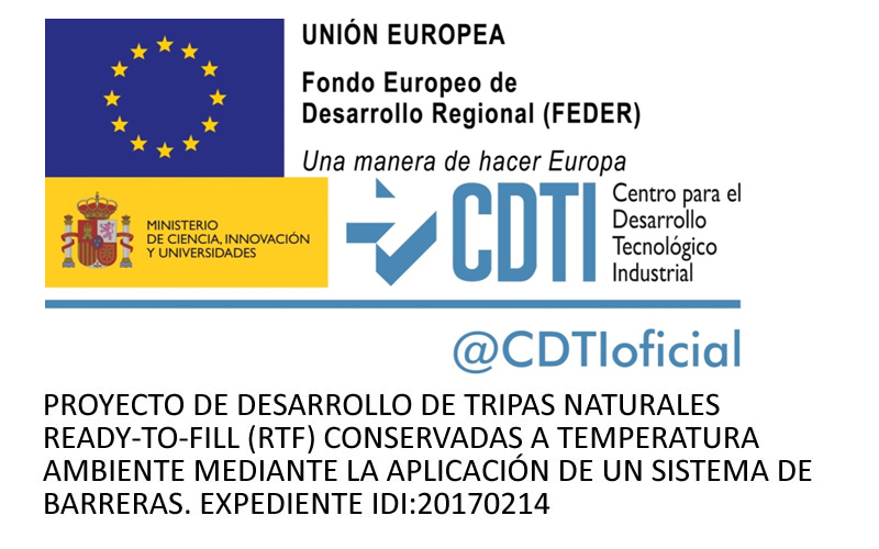Proyecto de Desarrollo de Tripas Naturales Ready-To-Fill de Grupo Caro Salmerón