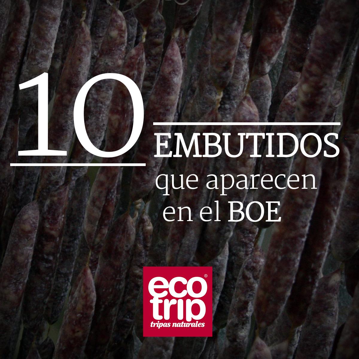 10 embutidos en el BOE