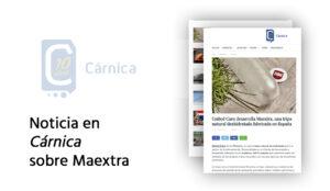 Cárnica habla de Maextra la nueva tripa deshidratada de United