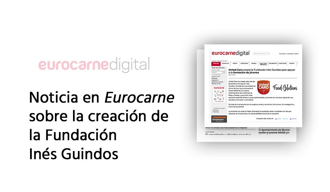 Eurocarne destaca la creación de la Fundación Inés Guindos pa