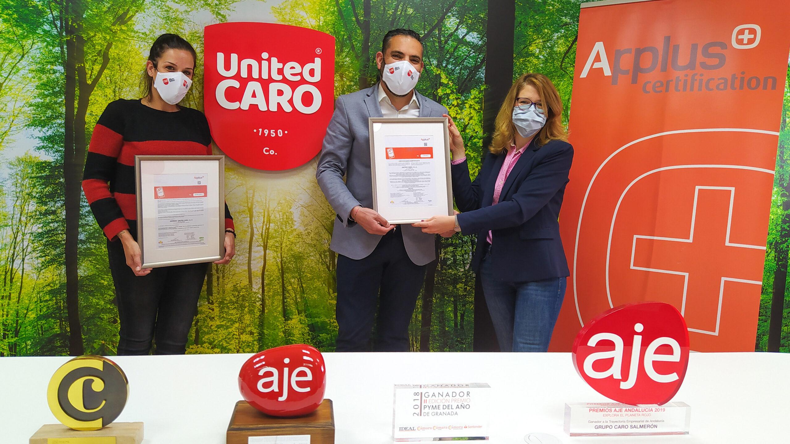 United Caro primera empresa a nivel mundial con certificaciones